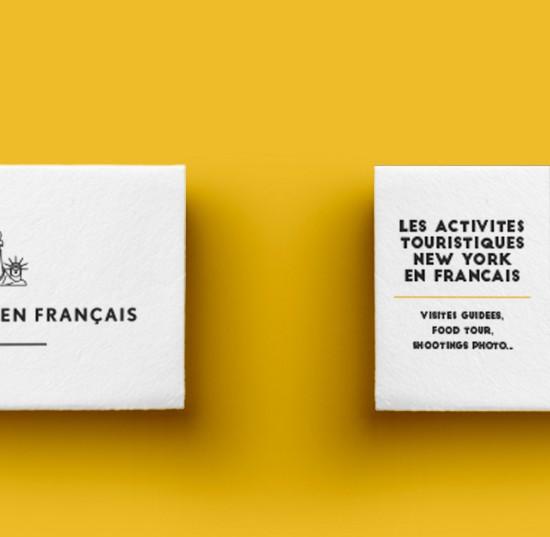 Carte De Visite New York En Francais