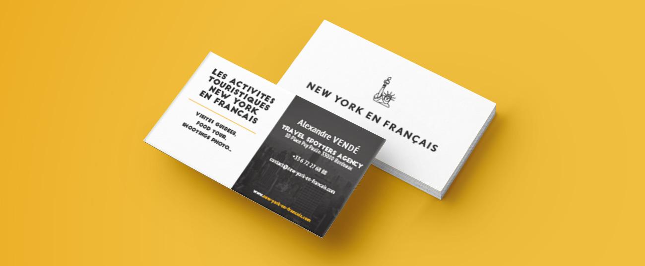 Carte Visite Newyork En Francais